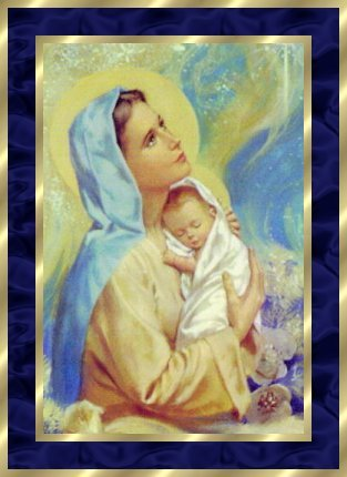 Robert this picture of Mary and Jesus for you my sweet brother